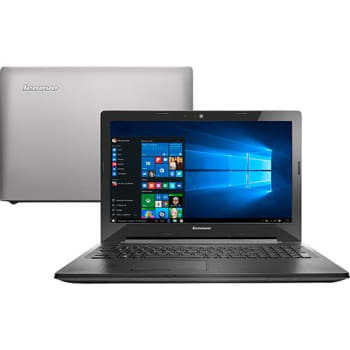 "Notebook Lenovo G50-80 Intel Core i7 8GB 1TB Tela LED HD 15,6"" Windows 10 - Prata"