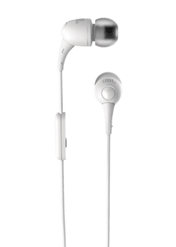 Fone de Ouvido Intra Auricular Com Microfone JBL T100 Branco (Cód: 8884086)