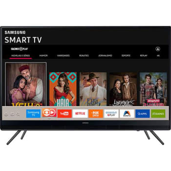 "Smart TV LED 40"" Samsung UN40K5300AGXZD Full HD com Conversor Digital Integrado Wi-Fi 2 HDMI 1 USB com Tizen Gamefly Áudio Frontal"