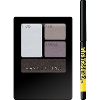 Kit Maybelline com Lápis The Colossal Kajal Extra Black + Quarteto de...Kit Maybelline com Lápis The Colossal Kajal Extra Black + Quarteto de...Kit Maybelline com Lápis The Colossal Kajal Extra Black + Quarteto de...Kit Maybelline com Lápis The Colossal Kajal Extra Black + Quarteto de...