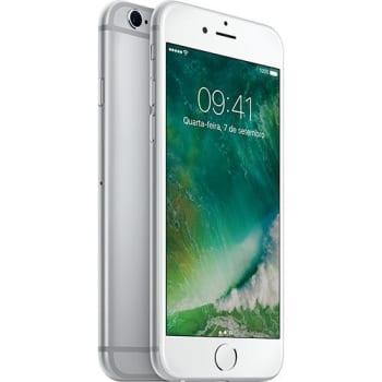 iPhone 6s 16GB Prata Desbloqueado iOS9 3G/4G Câmera 12MP - Apple
