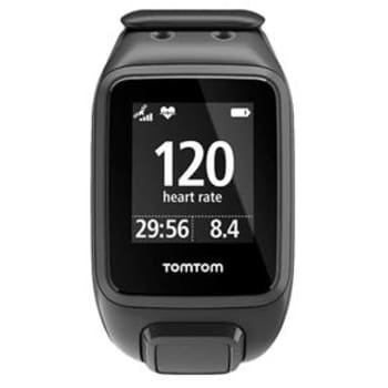 Relógio Monitor Cardíaco TomTom Runner 2 Cardio - Adulto P - Preto