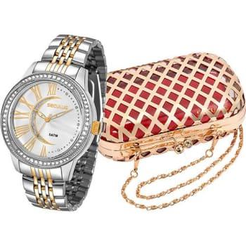 Relógio Feminino Seculus Analógico Fashion 28485lpsvbs2k1 (Cód. 128283193)