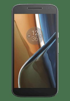 "Smartphone Motorola Moto G 4 Preto 4G Tela 5.5"" Android 6.0.1 Marshmallow Câm 13Mp Dualchip 16Gb"