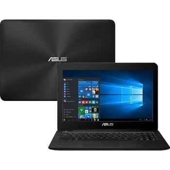 "Notebook Asus Z450UA-WX001T Intel Core i5 6 Geração 8GB 1TB Tela LED 14"" W10 - Preto"