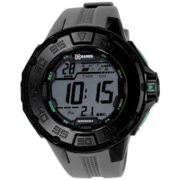 Relógio Masculino Digital X-Games, Cronógrafo e Dual time, Com Calendário, Resistente à Água 10 Atm - XMPPD337-BXGX