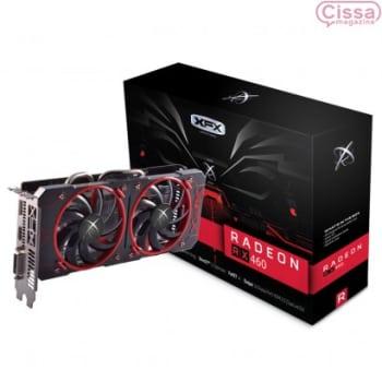 Placa de Vídeo XFX Radeon RX 460 OC 4GB RX-460P4DFG5