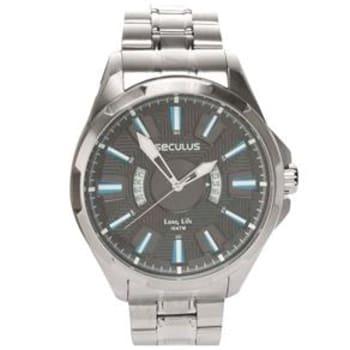 Relógio Masculino Analógico Seculus 28493G0SVNA1 - Cromado