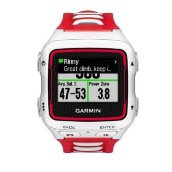 Monitor Cardíaco Garmin Forerunner 920XT, Com GPS, Resistente a Água, Orienta o seu treino, Vermelho e Branco