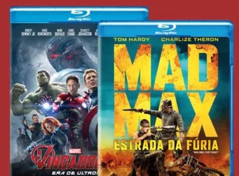 Leve 2 Blu-Rays por R$ 39,90 - Saraiva